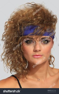 80s Hair Stock Photos, Images, & Pictures   Shutterstock