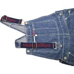 Denim Short Overalls Bib Overalls Tommy Hilfiger Overalls 90s Grunge... ($58) ❤ liked on Polyvore featuring jumpsuits, rompers, camouflage bib overalls, denim short overalls, vintage jumpsuit, short overalls and romper jumpsuit