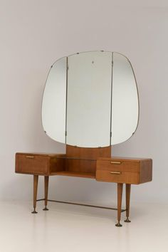 Rare+Mid-Century+Modern+Vanity+or+Dressing+Table+by+A.A.+Patijn+for+Zijlstra+ +From+a+unique+collection+of+antique+and+modern+vanities+at+https://www.1stdibs.com/furniture/tables/vanities/