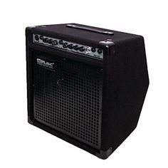 Coolmusic DK-35 40watts Personal Monitor Amplifier Electric Drum Amplifier PA Workstation Keyboard Speaker and Acoustic Guitar Amplifier