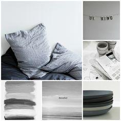 shades of grey moodboard