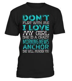 Morning News Anchor - Crazy Girl #MorningNewsAnchor