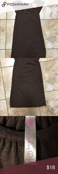 Kids Swaeter Dress size 5T Kids Sweater Dress, Cherokee brand, size 5T Cherokee Other