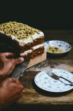 masala chai carrot cake