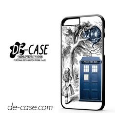 Alice In Wonderland Ceshire Cat Police Box Us DEAL-513 Apple Phonecase Cover For Iphone 6 / 6S