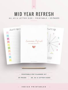 2017 2018 Planner Mid Year Planner Resolutions Planner