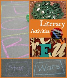 The Sunday Showcase is a link party for your child-centered ideas. This week literacy activities are being featured. Education And Literacy, Preschool Literacy, Early Literacy, Kindergarten Teachers, Literacy Activities, Kids Education, Preschool Ideas, Reading Games, Kids Reading