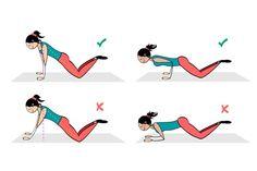 spevnenie prs Planking, Fitness