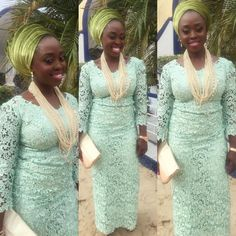 Heart-Appealing Aso Ebi Styles You Would Always Cherish - Wedding Digest Naija Nigerian Dress, Nigerian Lace, Nigerian Fashion, Aso Ebi Styles, Ankara Styles, Latest African Fashion Dresses, Latest Outfits, African Lace Styles, African Style
