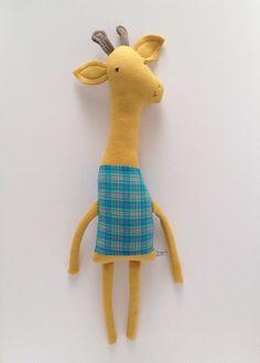 Plush Giraffe Friend Handmade Creature – Urban Poppy