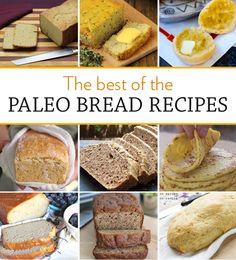 The Best of The Paleo Bread Recipes | via eatdrinkpaleo.com.au