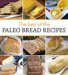 The Best of The Paleo Bread Recipes | via eatdrinkpaleo.com.au