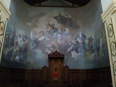 interno cattedrale di squillace (cz)
