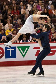 Tessa Virtue/Scott Moir 2014 Canadian Nationals