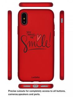 Valentine's Day Gifts Cover Smartphones Case iPhone X Fashion Soft Protective  #LuGeKe