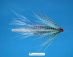 Teal Blue and Silver Tube Fly