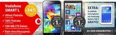 Vodafone Smart L mit bis zu 1GB LTE für 34,99€ + TOP Bundle ab 1€ http://www.simdealz.de/vodafone/vodafone-smart-l-mit-top-smartphone/