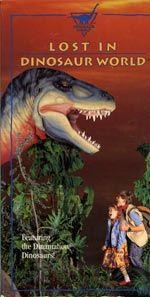 Lost in Dinosaur World DVD cover art Lost Movie, Dinosaur Park, World Movies, Fox Tv, Prehistoric Creatures, T Rex, Live Action, Cover Art, Fan Art