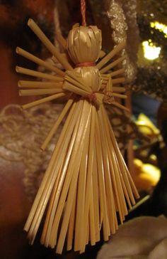Olkienkeli Wiccan, Pagan, Danish Christmas, Christmas Crafts, Xmas, Nordic Art, Origami, Weaving, Homemade