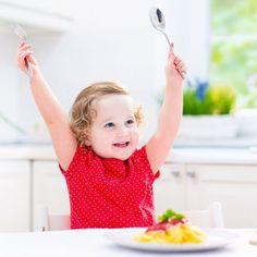 Menús semanales para niños por edades.
