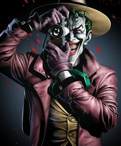 Coringa (Joker) – Psicopatia (Transtorno de Personalidade Antissocial) e Psicose… Joker (Joker) – Psychopathy (Antisocial Personality Disorder) and Psychosis – Mental disorders in the Batman. Batman Comic Art, Joker Batman, Joker Art, Batman Robin, Fotos Do Joker, Joker Pics, Batman Joker Wallpaper, Joker Wallpapers, Batman Arkham City