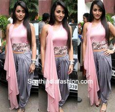 Trisha Krishnan in Dhoti Pants