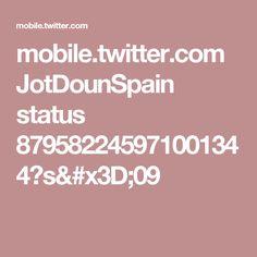 mobile.twitter.com JotDounSpain status 879582245971001344?s=09
