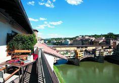 Wohnen bei Ferragamos in den Lungarno Suiten
