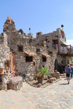 Mystery Castle in Phoenix, AZ , STRANGE comes to mind...you have to see it, to believe it....