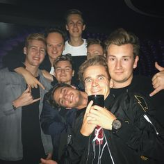 """Caspar Lee (@caspar_lee) on Instagram: """"Huge birthday celebration last night for Josh. Thanks to everyone who came down to Libertine for…"""""""
