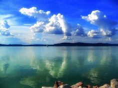 Balaton Our Town, Interesting Information, Our World, Bavaria, Budapest, Blues, Boat, Mountains, Country