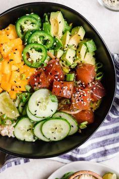Fish Recipes, Seafood Recipes, Asian Recipes, New Recipes, Dinner Recipes, Cooking Recipes, Healthy Recipes, Ethnic Recipes, Summer Recipes