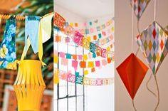 Reunimos ideias criativas e charmosas para a decoração do seu arraial. Inspire-se!
