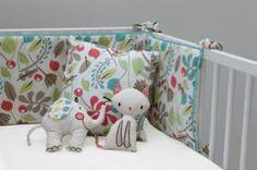floral leafy baby bumper set for baby girls Cot Bedding Sets, Bedding Sets Online, Nursery Bedding, Linen Bedding, Bed Linen, Cot Bumper Sets, Baby Bumper, Kids Room Furniture, Nursery Accessories