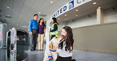 Pet being shipped by friendly United employee via PetSafe program