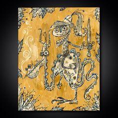 Dragon & Knight by Alberto Cerriteno