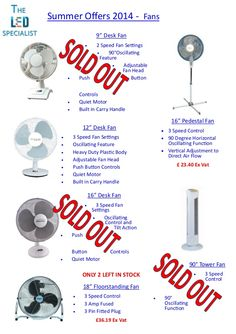 Latest summer offers 2014  by The LED Specialist via slideshare