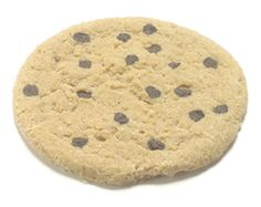 Faux Large Chocolate Chip Cookie.