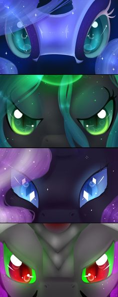 Evil Ponies Eyes set by Neko-luvz on DeviantArt