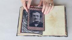 Antiquarian Style Poe Writer's Journal