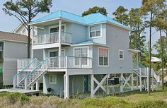 Abaco Blue - 4 Bedroom / 3 Bath Gulf Front Home