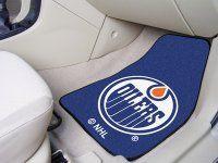 Edmonton Oilers 2pc Carpet Car Mat Set. $29.99 Only.