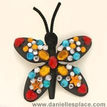 Spring Butterfly Kids Craft