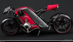 Intemporal Design for the Ducati Potenza by Franck Levivier