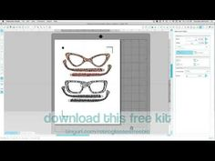 how to set up SVG files to print and cut Silhouette Studio V3 Designer E...