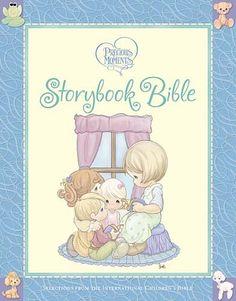 Precious Moments Storybook Bible by Sam Butcher,http://www.amazon.com/dp/1400315999/ref=cm_sw_r_pi_dp_fjQNsb04VZT4E692