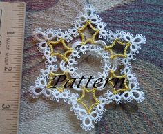 PATTERN ONLY - - no tatting actually comes with this listing. Etsy will allow download of this pattern once payment is received. A Microsoft Word