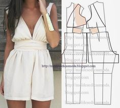 Make ur own clothes Diy Clothing, Clothing Patterns, Dress Patterns, Sewing Patterns, Sewing Pants, Sewing Clothes, Fashion Sewing, Diy Fashion, Diy Couture Top