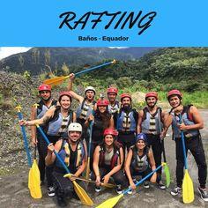 Baños é uma cidade para esportes radicais, inclusive o Rafting de nível 05.  Equador Viagem  हमारी साइट को अधिक जानकारी प्राप्त करें   https://storelatina.com/ecuador/travelling  #ilhagalapagos #guayaquilequador #equadorgalapagos #equadorcapital