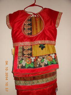 Indian Designer Multi color jorjet net women saree - $403